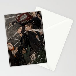 Unknown Lands Chapter 3 Cover Stationery Cards
