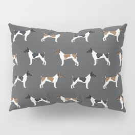Rat Terrier dog breed decor gifts pure breed dogs Pillow Sham