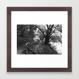Old way Framed Art Print