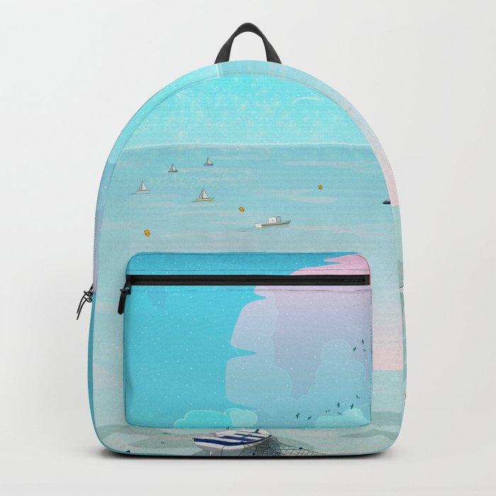 Between two waters Backpack