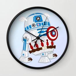 Captain R2D2 Wall Clock
