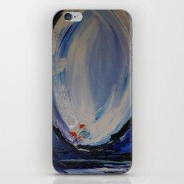 Blue Vision iPhone Skin