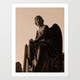 Necropolis Angel Art Print