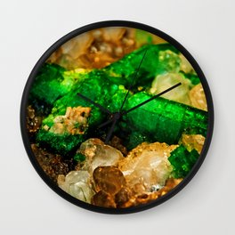 EMERALDS Wall Clock