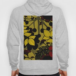 Fall floral pattern Hoody