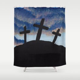 Calvary Shower Curtain