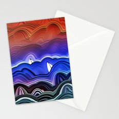 Ships at Sea Stationery Cards