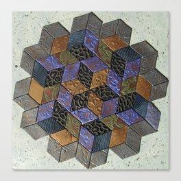 Tumbling Blocks #4 Canvas Print