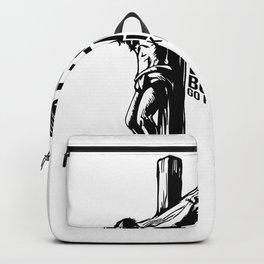 Jesus Loves You I Dont Go Fuck Yourself Backpack