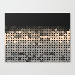 angled squares Canvas Print