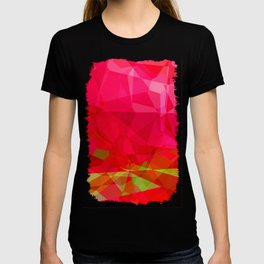 Crape Myrtle Abstract Polygons 3 T-shirt