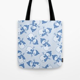 C1.3 snowman pattern Tote Bag