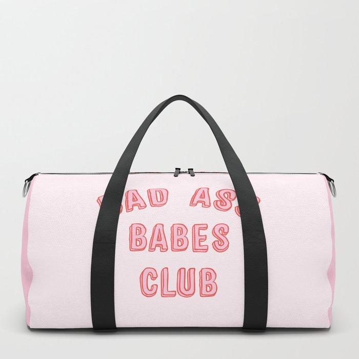 BAD ASS BABES CLUB Duffle Bag