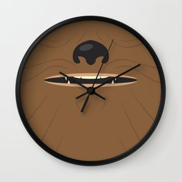 Fuzzball Wall Clock