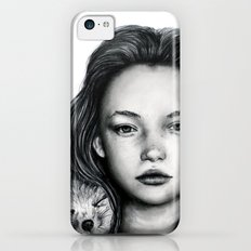The Girl and Fox iPhone 5c Slim Case