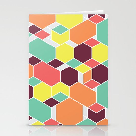 Hex P II Stationery Cards