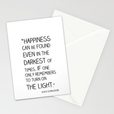 Happiness is always somewhere. Stationery Cards