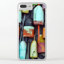 Float on a wall, Cape Cod Clear iPhone Case