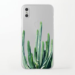 Cactus V6 #society6 #decor #buyart Clear iPhone Case