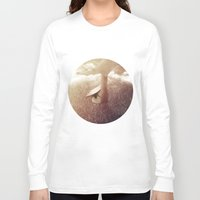 welcome Long Sleeve T-shirts featuring Welcome by Zuzana Krizakova
