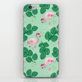 Flamingo Friends iPhone Skin
