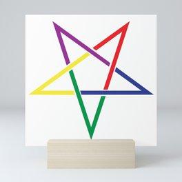 Pentacle Ancient Symbol Mini Art Print