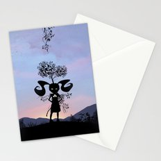 Poison Ivy Kid Stationery Cards