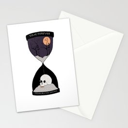 Time Forever Favours The Young Stationery Cards