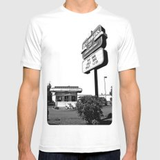 Best Burgers Drive-In Mens Fitted Tee MEDIUM White