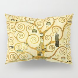 Gustav Klimt The Tree Of Life Pillow Sham