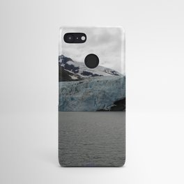 TEXTURES -- A Face of Portage Glacier Android Case