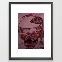 Society Framed Art Print