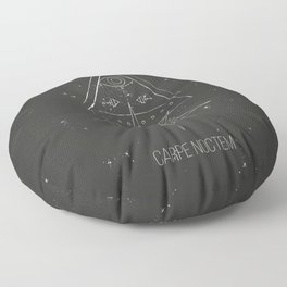 Carpe noctem Floor Pillow