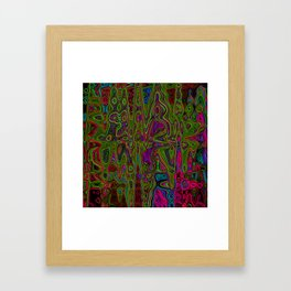 Psych Reversed Framed Art Print