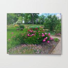 Adena Garden Metal Print
