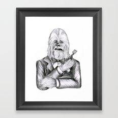 Wookie 007 Framed Art Print