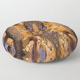 MADRONA TREE TORSO Floor Pillow