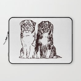 Australian Shepherd working dog for dog lovers Laptop Sleeve
