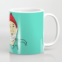 murray Mugs featuring The Murray by alyssa dunning