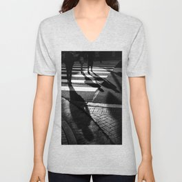 Three Shadows Unisex V-Neck