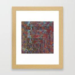 Mosaic Collage Duvet Cover Framed Art Print