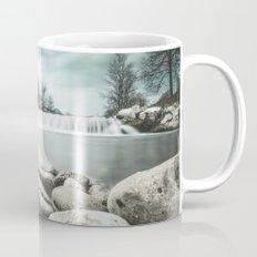 Waterfall on Sora river, Medvode Mug