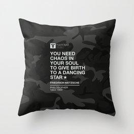 You need chaos Throw Pillow
