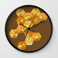 Just Bee Wall Clock