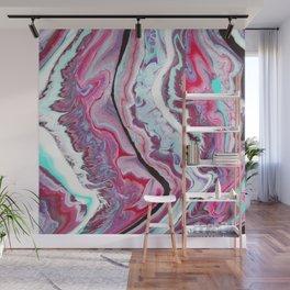VioletWave Wall Mural