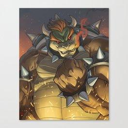 BOWSER: KING OF THE KOOPAS Canvas Print