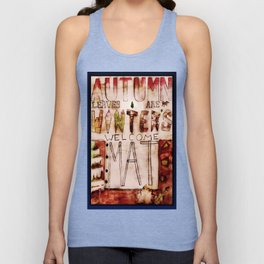 Welcome Winter Unisex Tank Top