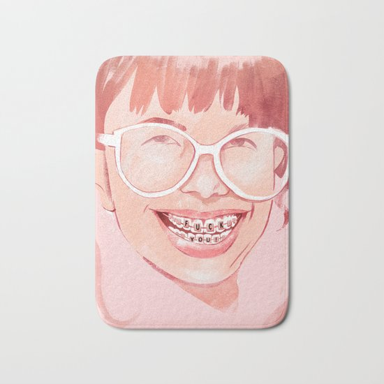 Smile! Bath Mat