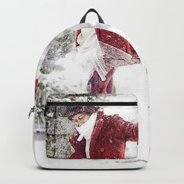 Red in Snow Backpack