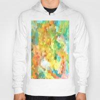 splatter Hoodies featuring Paint Splatter by Rosie Brown